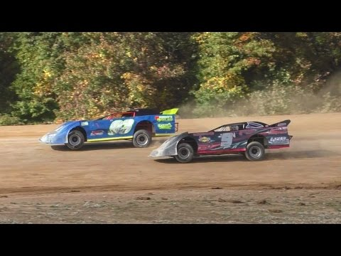 Semi Late Model Feature | Thunder Mountain Speedway | 10-9-16 - dirt track racing video image