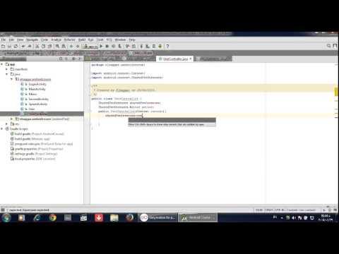 كورس برمجة تطبيقات الاندرويد  14 Checkbox Save data To SharedPreferences