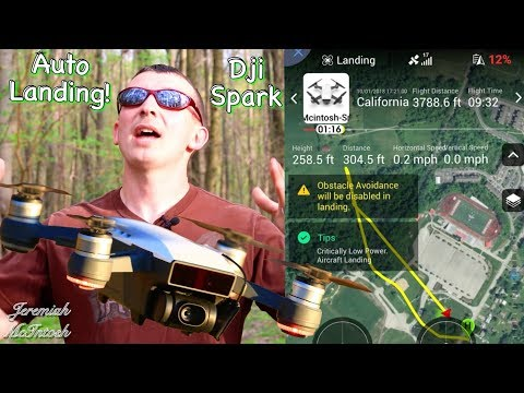 NO!! DJI Spark Return home didn't make it home! Tips on Critically Low Battery Auto Landing Feature! - UCbTJDOu_hqazA7GpGRcLjuw