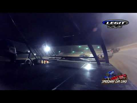 #98 Kevin May Jr - Hobby Stock - 6.26.21 Legit Speedway Park - In Car Camera - dirt track racing video image
