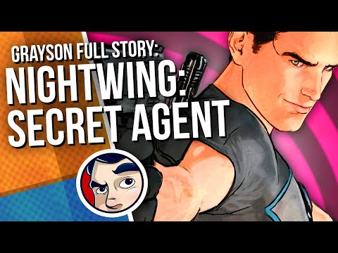"Nightwing ""Origin - Secret Agent - Rebirth"" - Full Story | Comicstorian - UCmA-0j6DRVQWo4skl8Otkiw"