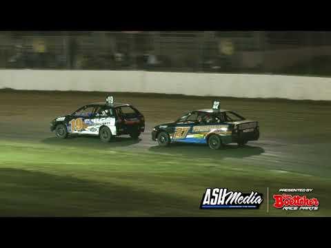 Junior Sedans: 2020/21 Queensland Title - B-Main 2 - Roma Speedway - 01.05.2021 - dirt track racing video image