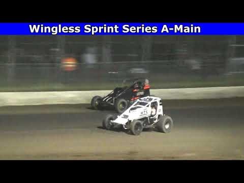 Grays Harbor Raceway, May 30, 2021, Wingless Sprint Series A-Main - dirt track racing video image