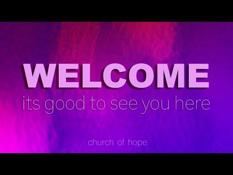 Sunday morning service at Church of Hope, 02/16/2020