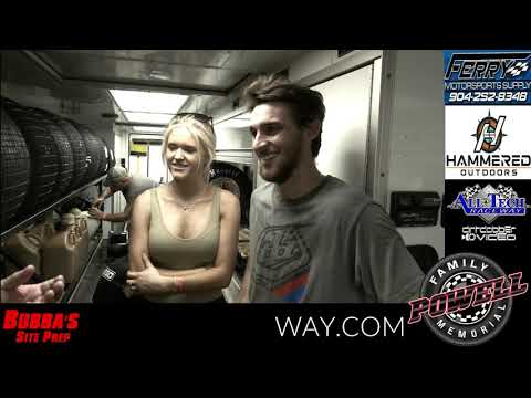 Cody Overton and Ahnna Parkhurst talk about the upcoming Powell Family Memorial at All Tech Raceway and what it would mean to win 25K at the most prestigious Dirt Late Model race in Florida and possibly the entire Southeast. OCTOBER 22-24 POWELL FAMILY MEMORIAL 25K to win 604 Late Models! - dirt track racing video image