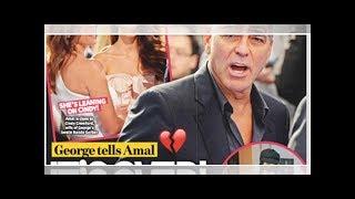 George et Amal Clooney, une tournure bien triste, leurs jumeaux pris entre deux feux (photo)20/2/...