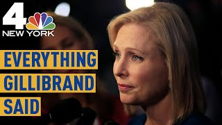 Everything Kirsten Gillibrand Said During Night 2 of the Democratic Debate in Miami | NBC New York