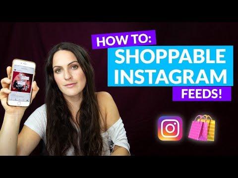 How to Create a Shoppable Instagram Feed! Step by Step Tutorial - UCCPAYZr5GA5Na7KES2qCKWA