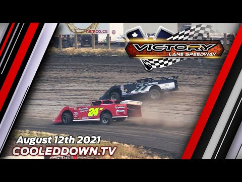Thursday August 12th 2021, LIVE on PPV from Victory Lane Speedway - dirt track racing video image