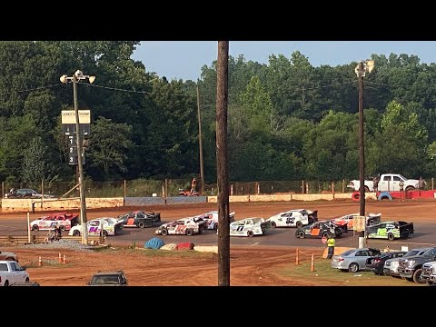 7/25/2021 Stock 4 Main Cherokee Speedway - dirt track racing video image