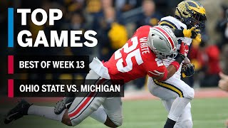 Top Games of 2018: Week 13 | Michigan Wolverines vs. Ohio State Buckeyes | B1G Football