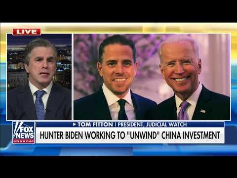 BROKEN PROMISE: Hunter Biden Still Involved In Chinese Firm