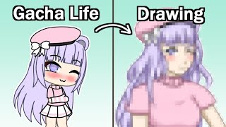 Drawing Your Gacha Life Characters! Part 2 | Speedpaint + Commentary