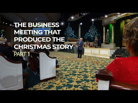 The Business Meeting That Produced The Christmas Story, Part 1  Jesse Duplantis