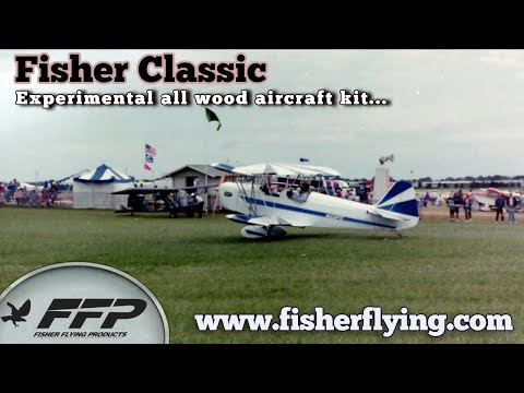 Fisher Classic two seat experimental light sport aircraft by Fisher Flying Products