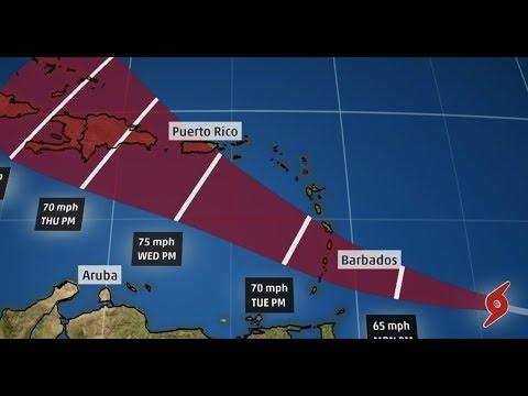Breaking Hurricane Dorian Headed For Caribbean, Haiti, Miami Florida