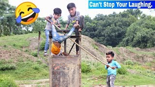 Must Watch New Funny😂 😂Comedy Videos 2019 - Episode 61 | Funny Vines || Hiphop BDT ||