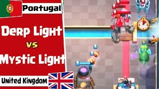 Who wins, Royal Giant or Golem deck? | Portugal vs UK | Clash Royale