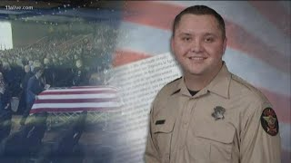 Sheriff: Deputy's death won't deter them from sworn duties, his legacy will be an honorable one