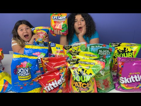 Don't Choose the Wrong GIANT Candy SLIME Challenge