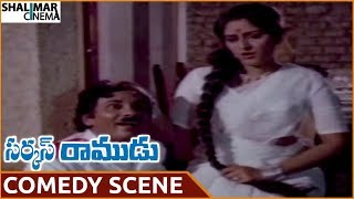 Circus Ramudu Movie || Jayaprada Hilarious Comedy With Servant || NTR, Jayaprada || Shalimarcinema