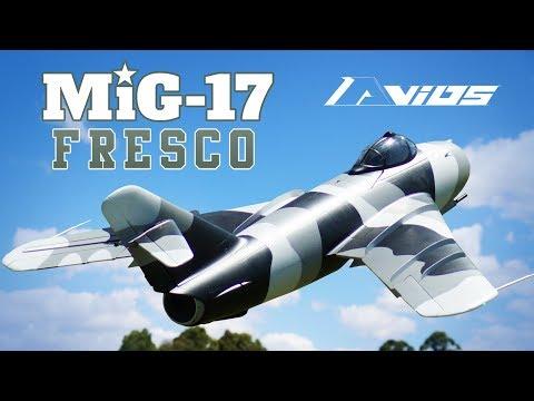 Avios Mig-17 Fresco Jet Fighter 90mm EDF 1200mm - HobbyKing Product Video - UCkNMDHVq-_6aJEh2uRBbRmw