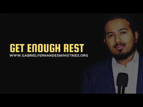 THE IMPORTANCE OF REST FOR YOUR PROGRESS IN LIFE, POWERFUL MESSAGE & PRAYERS - EV. GABRIEL FERNANDES