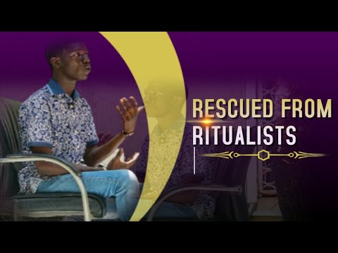 Striking Testimony: Rescued from Ritualists