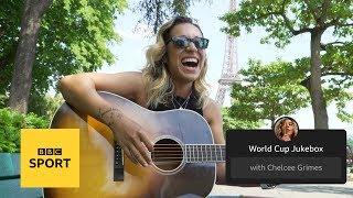 Chelcee's World Cup Jukebox: Dua Lipa, Nikita Nikita and Allez, Allez, Allez | BBC Sport