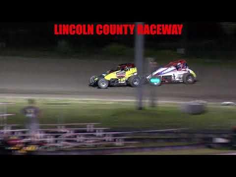 Lincoln County Raceway  Sprint Car Main   7 17 21 - dirt track racing video image