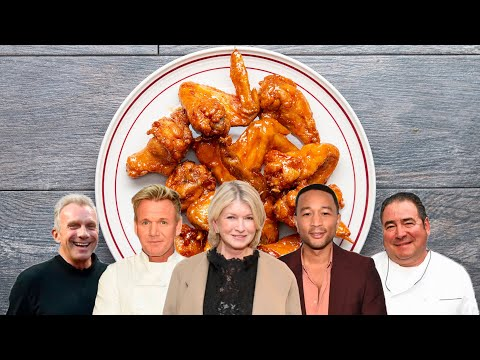 Which Celebrity Has The Best Wings Recipe? • Tasty - UCJFp8uSYCjXOMnkUyb3CQ3Q