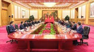 Chủ tịch Quốc hội Nguyễn Thị Kim Ngân hội kiến Tổng Bí thư, Chủ tịch Trung Quốc Tập Cận Bình