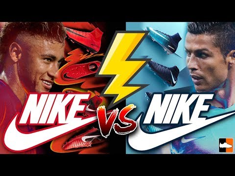 99ae89cbb Neymar vs Ronaldo s New Boots ! Nike Play Fire   Ice Cleats Collection