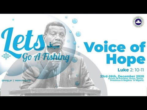 RCCG DECEMBER 27TH 2020  PASTOR E.A ADEBOYE LETS GO A FISHING _DAY 1