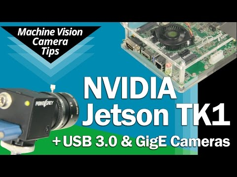 Computer vision with nVidia's new 192-core Jetson TK-1 development