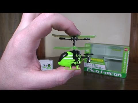 Silverlit - Pico Falcon (2015 World's Smallest RC Helicopter) - Review and Flight - UCe7miXM-dRJs9nqaJ_7-Qww