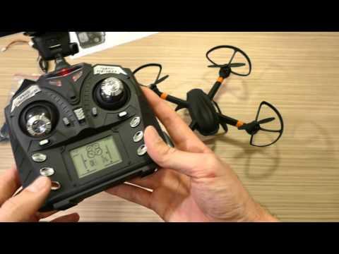 Quadcopter FPV via WIFI a Smartphone GW007-1 - UCZXkCAvP1uHerZ9eV_ZcuKA