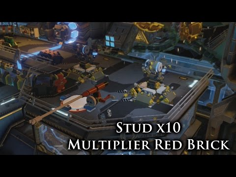LEGO: Batman 3 - Beyond Gotham - Stud x10 Multiplier Red Brick Location - Xbox One! - newvegaslightning