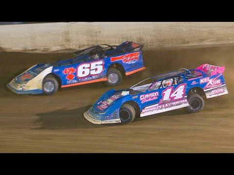 RUSH Crate Late Model Feature | Bradford Speedway | 8-6-21 - dirt track racing video image