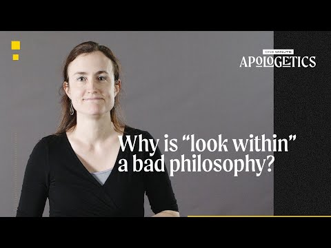 Why Is Look Within a Bad Philosophy?