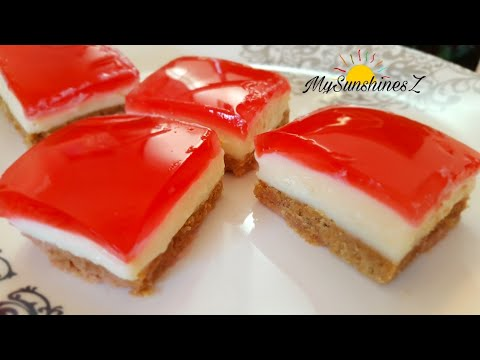 Jelly Layered Pudding Recipe | Pudding without Agar Agar | No Bake Summer Desserts