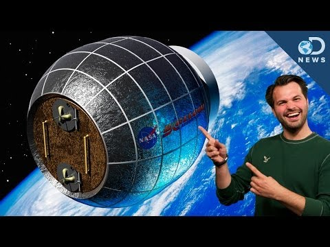 Why NASA Is Using Inflatable Spacecraft - UCzWQYUVCpZqtN93H8RR44Qw