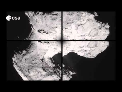 Comet's Dust Streams and Grains Captured by Rosetta Probe  | Video - UCVTomc35agH1SM6kCKzwW_g