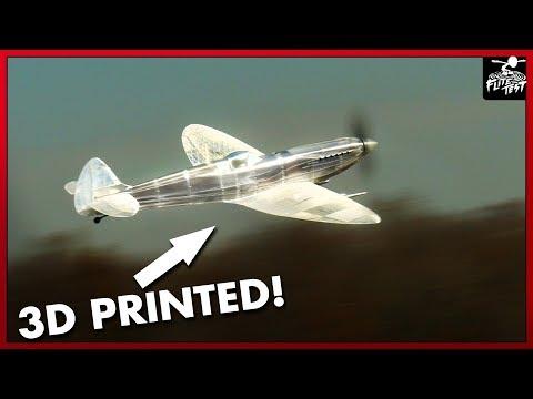 3d Printed Monster Spitfire | FLITE TEST - UC9zTuyWffK9ckEz1216noAw