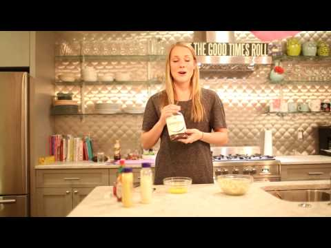 In the second episode of Dank Dishes, Delaney Burst shows how to make Crab Cakes and a corn, avocado, tomato salad.