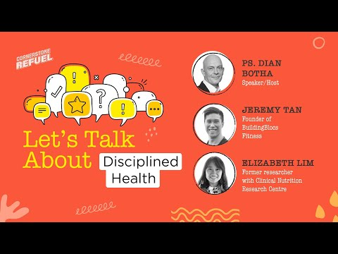 Let's Talk About Disciplined Health  Conversations  Cornerstone Community Church  CSCC Online