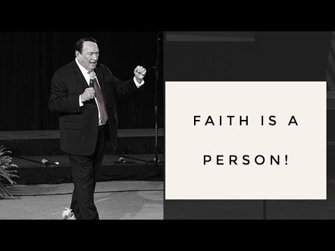 FAITH IS A PERSON!