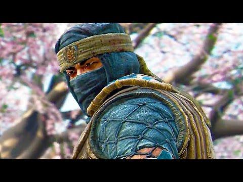 For Honor: Shinobi & Centurion Gameplay Trailer (New Classes) - UCa5qeML93Hg37Ckn22pxdHA