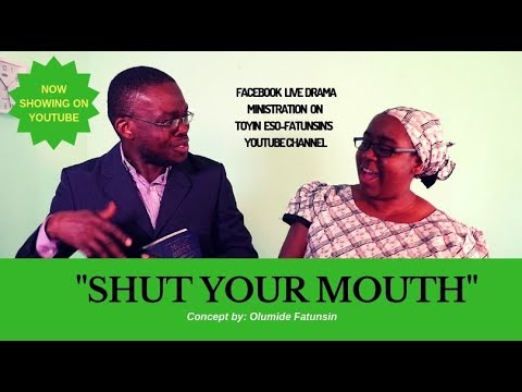 Live Drama: Shut your mouth