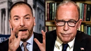 Chuck Todd Makes Larry Kudlow SQUIRM After Pointing Out Recession Failure